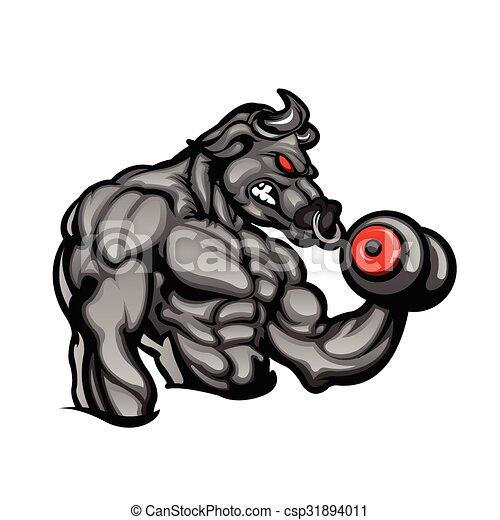 Strong bull - csp31894011