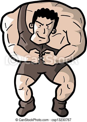 Strong man - csp13230767