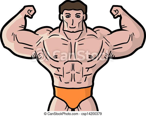 Strong man - csp14200379
