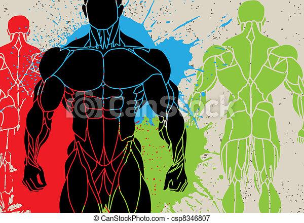 strong man - csp8346807
