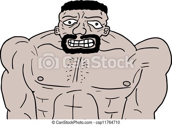 Strong man - csp11764710