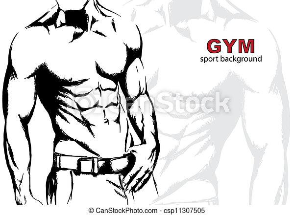 Strong man - csp11307505