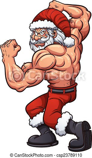 Strong Santa Strong Cartoon Santa Claus Vector Clip Art Illustration With Simple Gradients All In A Single Layer Canstock Choose from 190+ cartoon santa claus graphic resources and download in the form of png, eps, ai or psd. https www canstockphoto com strong santa 23789110 html
