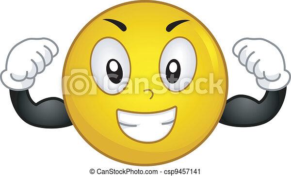Strong Smiley - csp9457141
