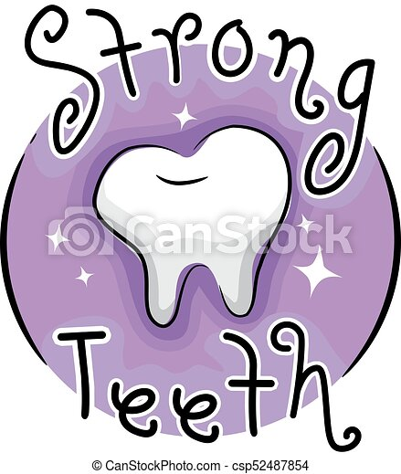 strong teeth icon illustration illustration of a strong rh canstockphoto com clipart strong girl strong clipart free