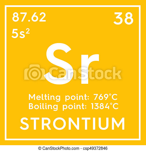 Strontium alkaline earth metals chemical element of mendeleevs strontium alkaline earth metals chemical element of mendeleevs periodic table strontium in square cube creative concept urtaz Image collections