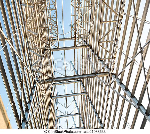 Structural steel framework - csp21933683