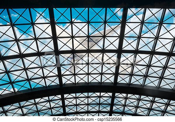 Structural steel framework - csp15235566