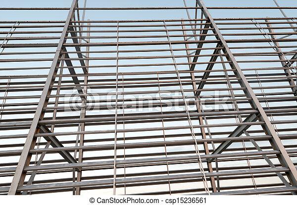 Structural steel framework - csp15236561