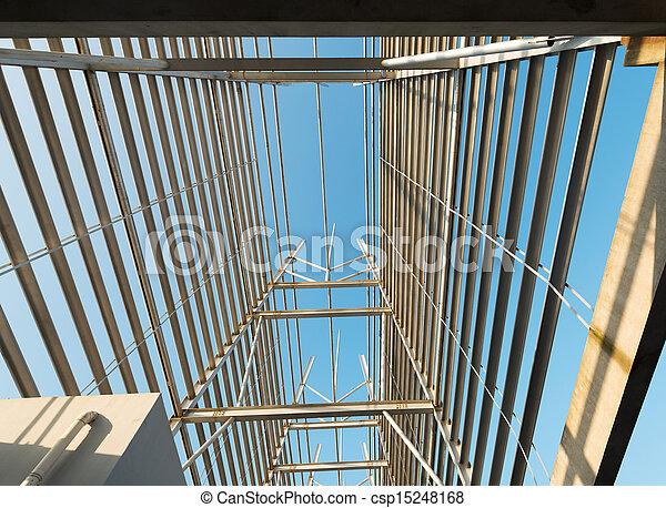Structural steel framework - csp15248168