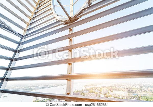 Structural steel framework - csp25156255