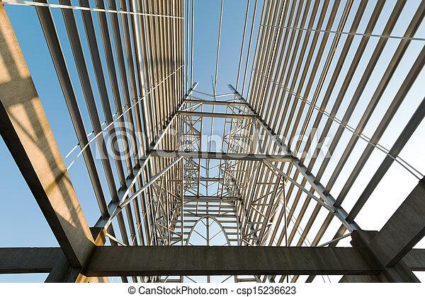 Structural steel framework - csp15236623
