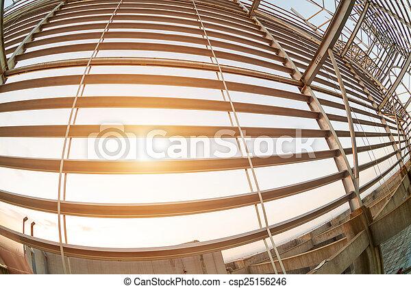 Structural steel framework - csp25156246