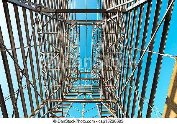 Structural steel framework - csp15236603