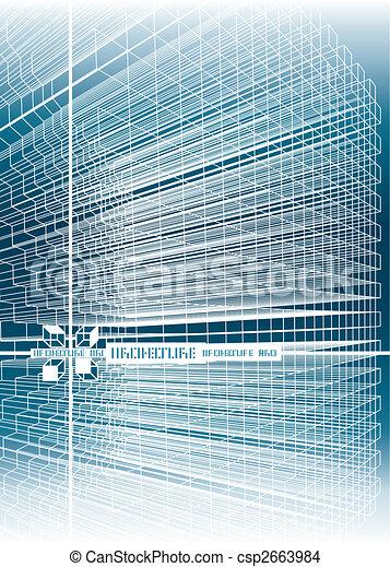 structure, lignes, fond - csp2663984