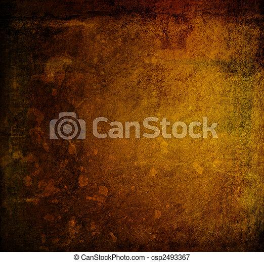 strukturer, res, hej, grunge, bakgrunder - csp2493367