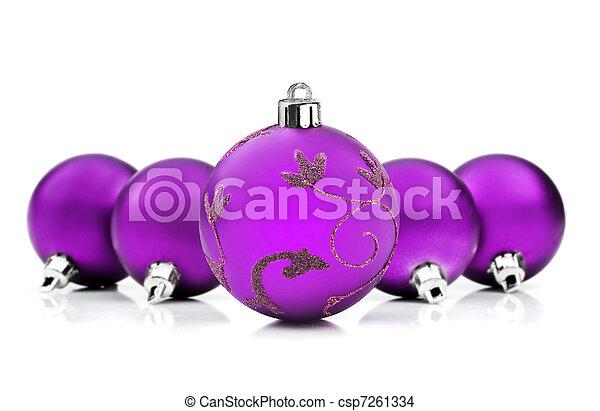 struntsak, utrymme, purpur, text, bakgrund, vit jul - csp7261334