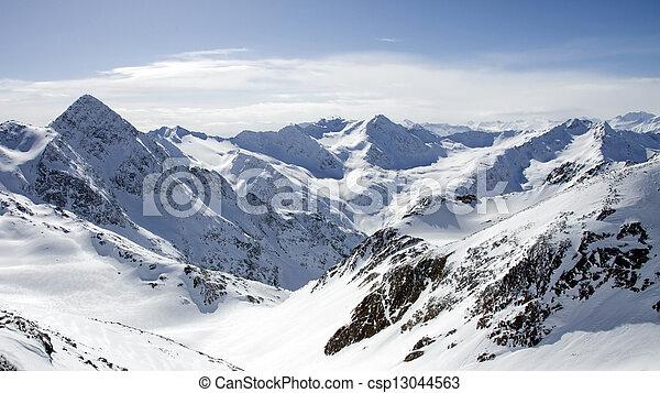 Stubaier Gletscher, Austria - csp13044563