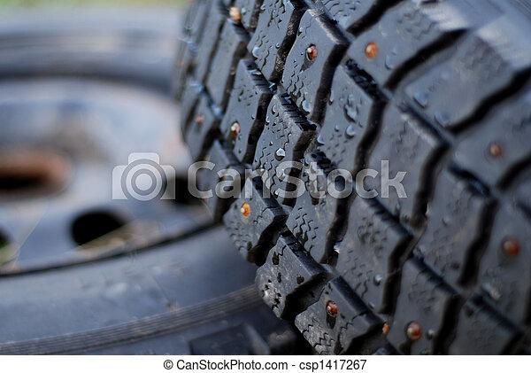 Studded Tire - csp1417267