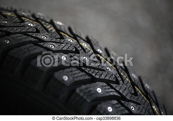 Studded tire - csp33898836