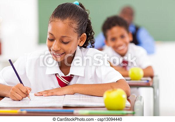 studenci, klasa, szkoła, główny - csp13094440