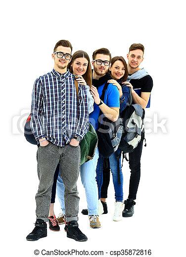 studenci, reputacja, grupa - csp35872816