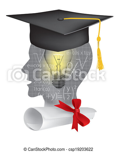 Student of mathematics graduation - csp19203622