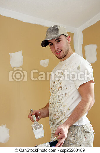 Student painter - csp25260189