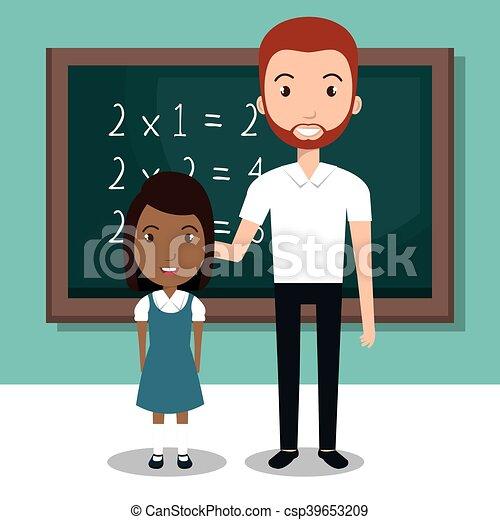 Student school teacher icon vector illustration design.