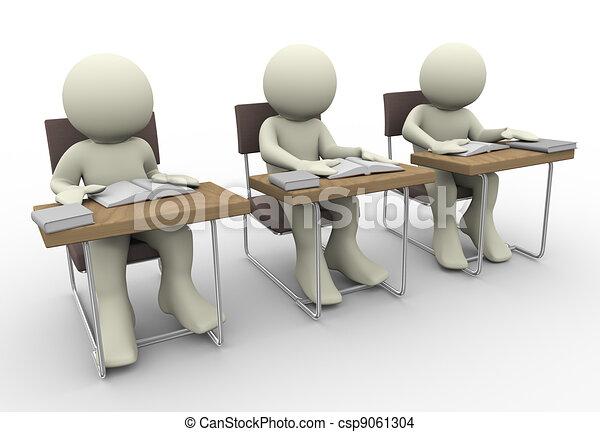 Student studying - csp9061304