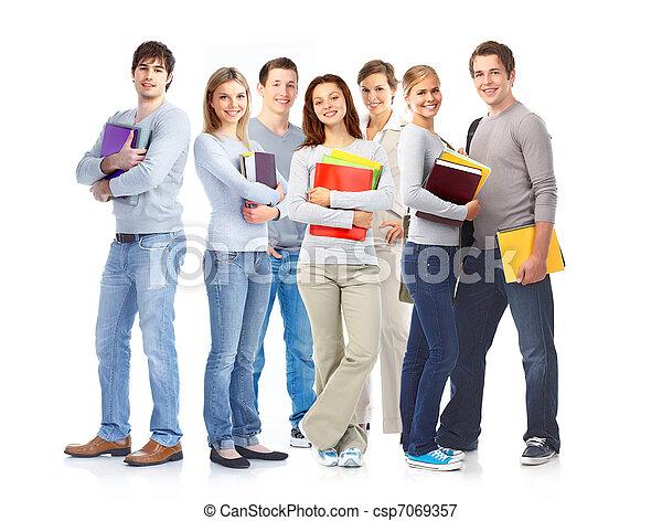 Students. - csp7069357
