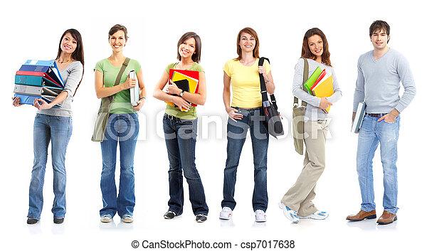 Students. - csp7017638