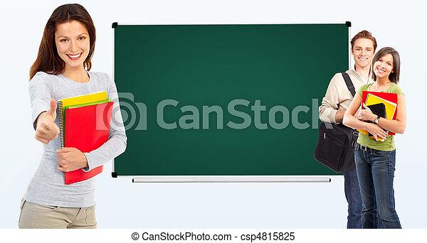 students  - csp4815825