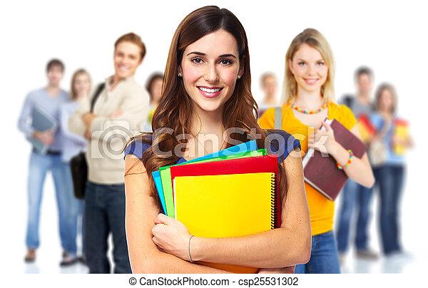 Students. - csp25531302