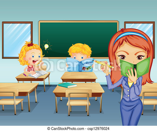 Students Studying Inside The Classroom 12976024 on Office Cleaning Clip Art Free