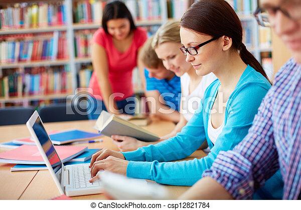 Studieren - csp12821784