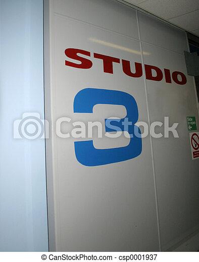 Studio Door - csp0001937