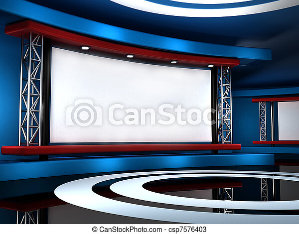 studio télé - csp7576403