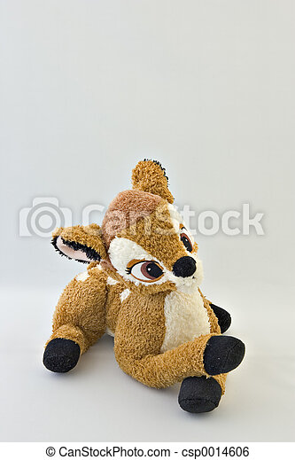 Stuffed toy deer - csp0014606