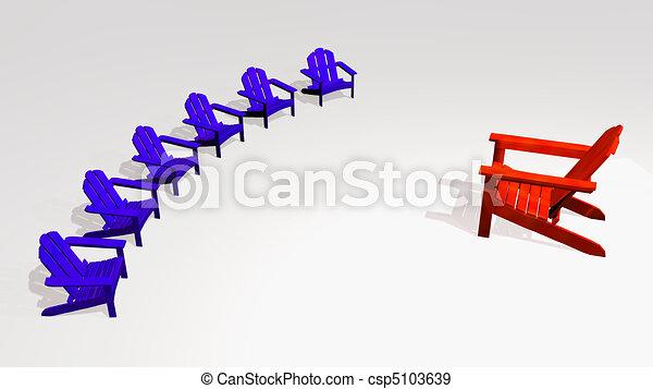 Stuhlkreis symbolkarte  Stock Illustration von stuhlkreis, versammlung, beiläufig, halb ...
