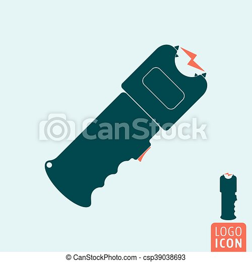 Stun gun icon - csp39038693