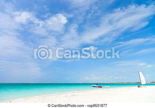 Stunning tropical beach - csp9531877