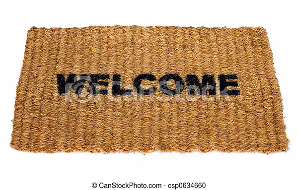 stuoia benvenuta - csp0634660