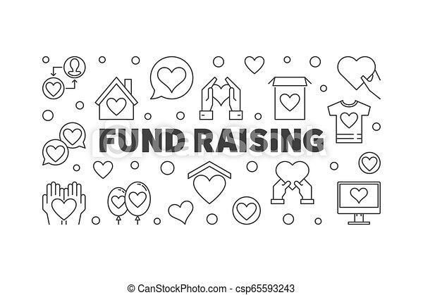 styl, fundusz, wektor, minimalny, kreska, chorągiew, wychowywanie, cienki - csp65593243