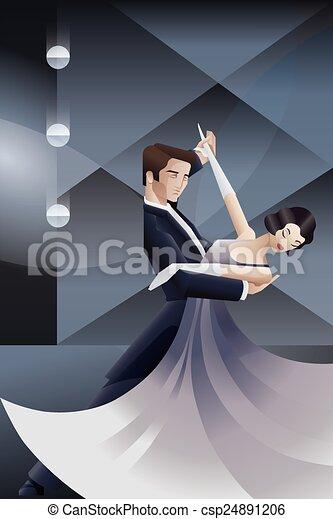 style deco art danse affiche couple g om trique deco clipart vectoriel rechercher. Black Bedroom Furniture Sets. Home Design Ideas