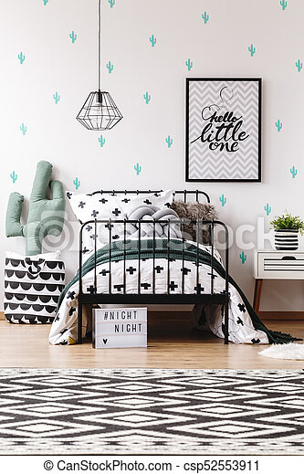 Style Gosse Scandinave Chambre A Coucher Style Scandinave Lit