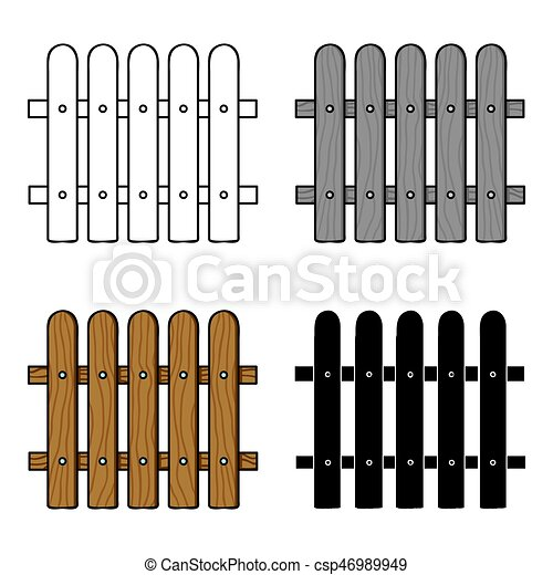 style illustration barri re symbole isol arri re plan vecteur ic ne blanc bois. Black Bedroom Furniture Sets. Home Design Ideas