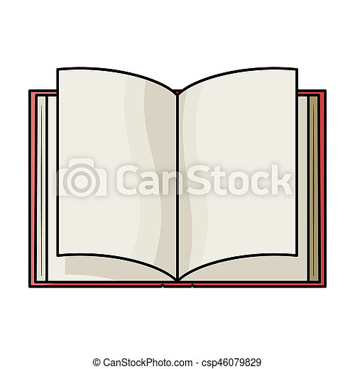 Style Illustration Icone Symbole Isole Bitmap Arriere Plan Livre Livres Blanc Stockage Dessin Anime Ouvert