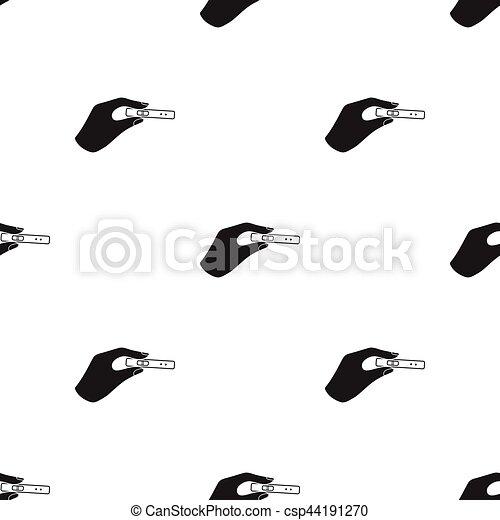 Style Illustration Modèle Isolé Arrière Plan Vecteur Noir Essai Blanc Icône Grossesse Stockage