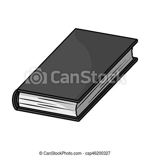 Style Illustration Symbole Isole Bitmap Arriere Plan Livres Noir Monochrome Blanc Icone Livre Stockage